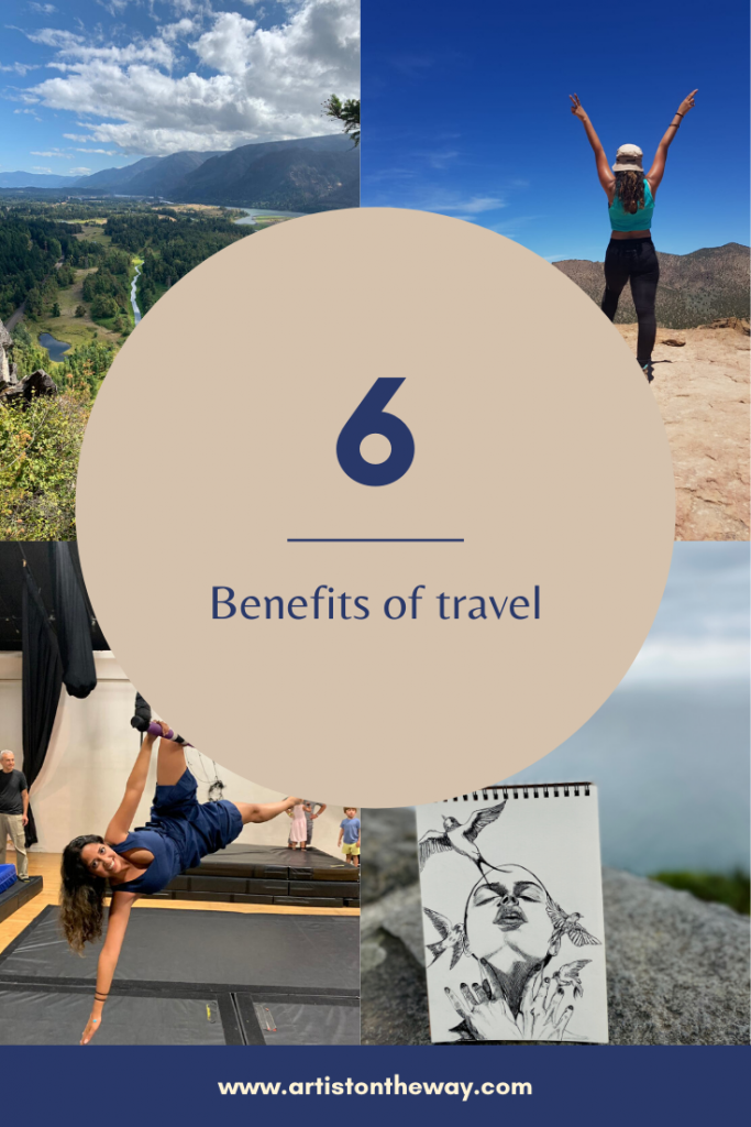 6 Benefits of travel